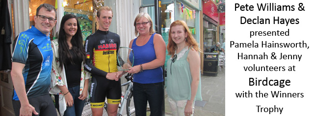 Tour de France Window Display Competition Winners