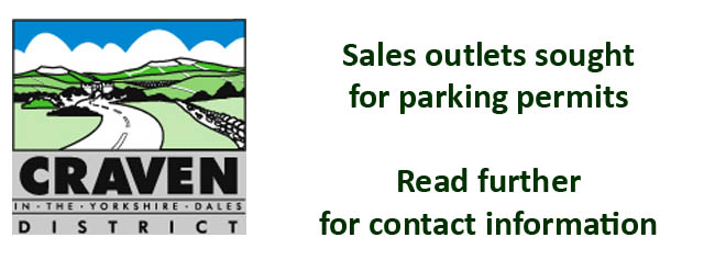 Seeking sales outlets for Skipton Parking Permits